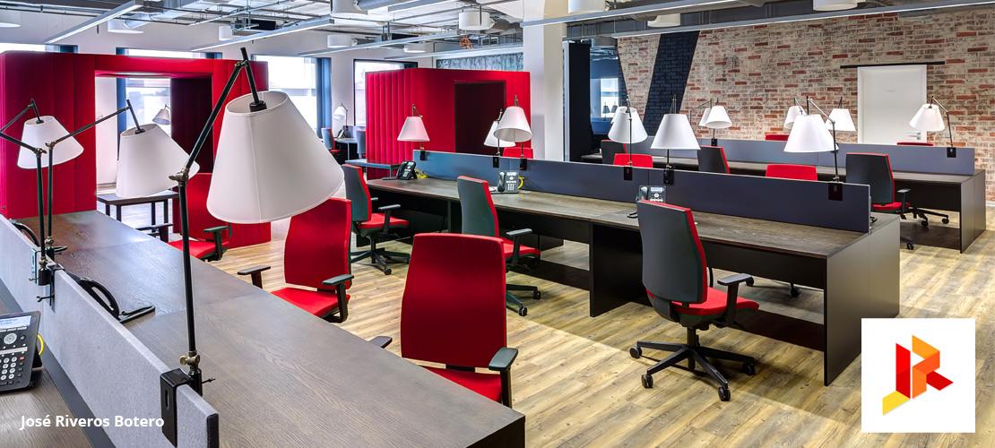 Dise o de oficinas for Diseno de oficinas